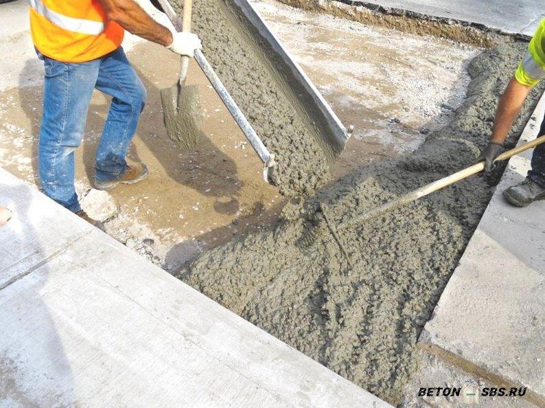 Рецепт бетона и строй смесей