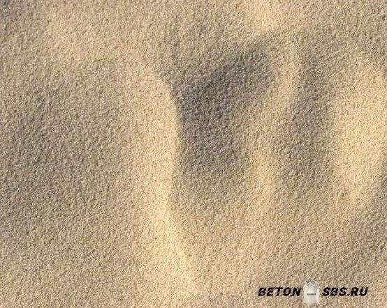 Какой нужен песок для фундамента