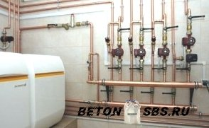 Почему медные трубы  фавориты в системах отопления?