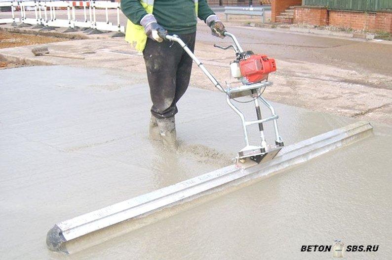 Значение подвижности бетона