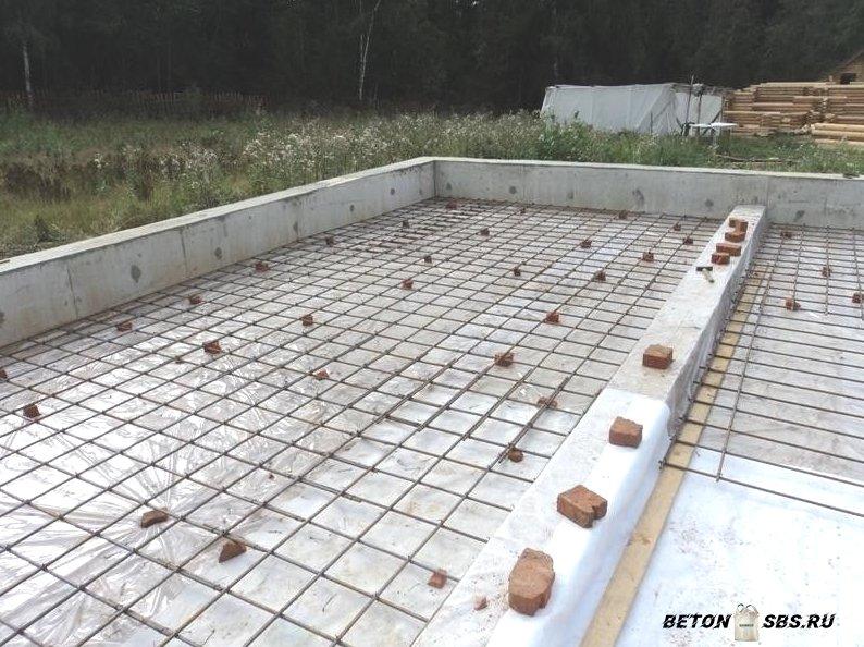 Правила армирования цельной плиты перекрытия