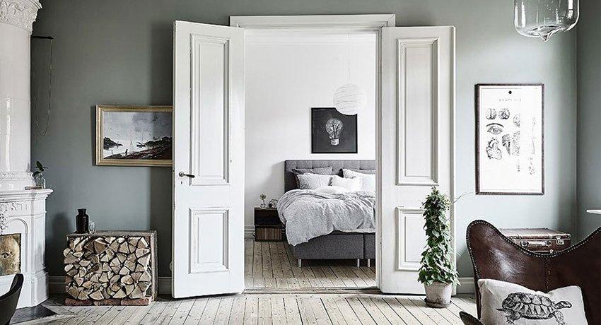 Белоснежные двери в интерьере: достойные внимания идеи и необыкновенные дизайнерские решения