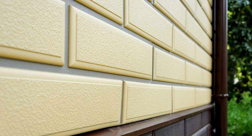 Фасадные панели под кирпич: неплохой метод украсить дом без излишней перегрузки на стенки