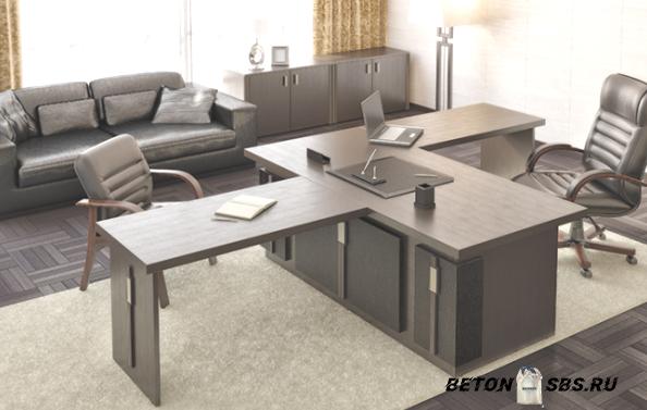 Как избрать мебель в кабинет управляющего