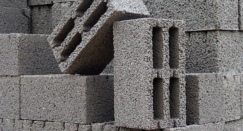 Размеры шлакоблоков: свойства, достоинства и недочеты материала